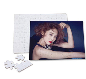 Blank Dye Sublimation Puzzle Child Adult Personality DIY Heat Transfer Puzzles Customized A3 A4 A5 Party Gifts Paper Jigsaw
