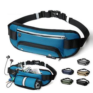Fashion Multifunction Sports Bag Running Waist Bag Pocket Jogging Portable Waterproof Cycling Bag Outdoor Phone Anti-theft Pack Belt Bags