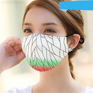 Smong Washable 인쇄 방진 천 디자이너 및 마스크 PM2.5 얼굴 마스크 보호 마스크 스트락
