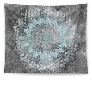 21 Designs Bohemian Mandala Tapestry Beach Hippie Throw Map Yoga Mat Polyester Shawl Multifunctional Bath Towels Wall Hanging Decor BEF2578
