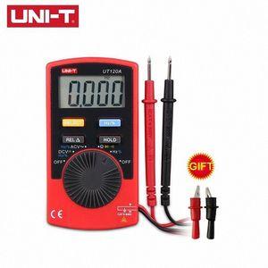 UNI-T UT120A UT120B UT120C Mini Pocket Digital Multimeter Auto Range AC / DC-Spannung Strom Widerstand-Frequenz-Test Bqux #