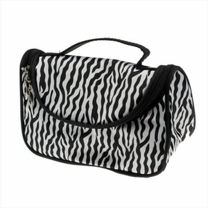 Stock Women Large Makeup Bag Cosmetic Case Storage Handle Travel Organizer Beauty Wash Bag Organizer Pouch Toiletry Case