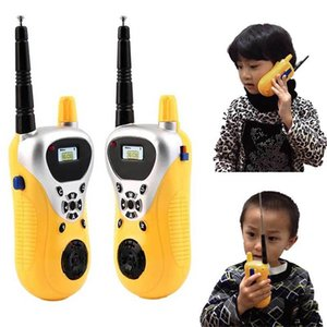 Intercom Electronic Walkie Talkie Kids Child Mni Toys Portable Two-Way Radio 72 LJ201105