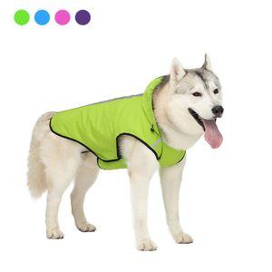 Dog Pet Waterproof Jacket Dog Verão Vest Raincoat reflexivos Pet Exteriores Roupa Small Medium Large Jacket Cães Pet Ropa Para qylElr