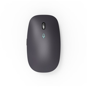 AI smart mouse more than 30 languages convert voice to text input old man mouse gray