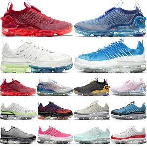 vapormax vapors vapor max vaporfly fly knit 2020 360 erkek bayan açık koşu ayakkabıları 2020s 360s Siyah Yanardöner moda erkek kadın spor ayakkabı platformu eğitmenler
