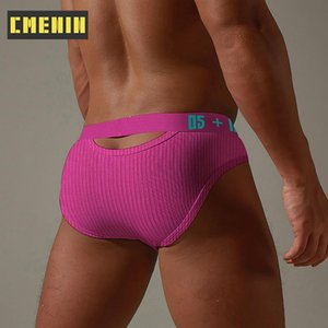 Breathable Cotton Gay Sexy underwear Men Jockstrap Briefs LOGO New Brand Men Bikini Mens Underwear Mens Panties Gift BS3513
