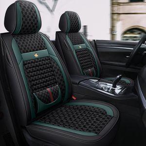 Универсальный роскошный Flak Splice Splice кожаных автомобильных сидений для Audi A1 A3 A4 A4L A6 Q3 Q5 S3 S5 S6 Car Auto Auto Auto Interiors 2021 новый стиль
