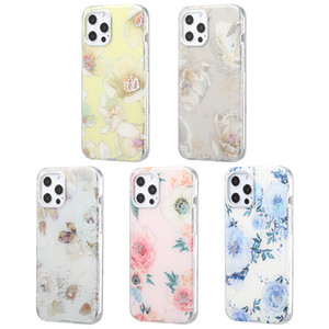 Printed IMD Protective TPU Hard Phone Case For iPhone 11 Pro 12 Mini 12Pro 12ProMax Women Frosted Mobile Bags