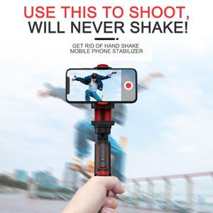 Stabilisateur de téléphone Selfie Stick Tir de tir Vlog Anti-Shake Trépied Stable Device Device Device Device Caméra Mouvement PTZ LJ200828