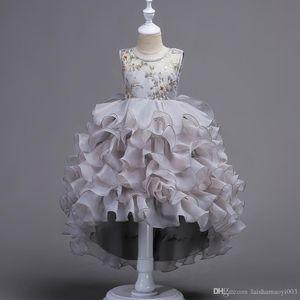 ancy Butterfly Kids Girl Wedding Flower Girls Dress Princess Party Pageant Formal Dress Prom Little Baby Girl Birthday Dress