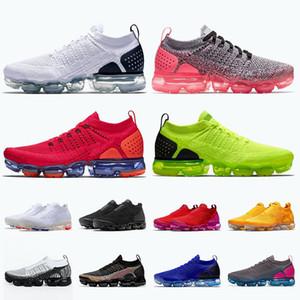 nike air vapormax fly knite nike vapormax Üst Kalite Tn artı Örme Kadınlar Erkek Koşu Ayakkabı Beyaz Siyah Pembe Kırmızı Orbit Volt spor eğitmenleri spor ayakkabısı