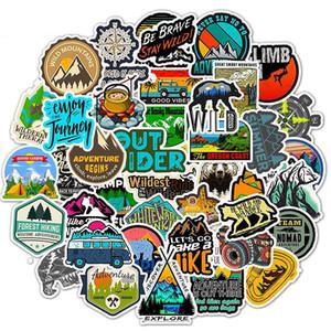 50pcs Lot outdoor travel personality graffiti stickers stickers explosion models waterproof decal stickers luggage bike skateboard sticker