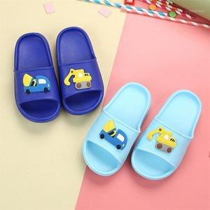Summer Children's Slippers For Boys Girls Slippers PVC Soft Bottom Non-slip Beach Sandals Kids Home Bathroom Flip Flops1