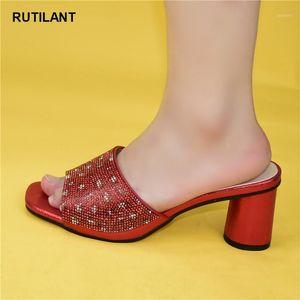 Nuovo arrivo Donne pompe nuove scarpe sexy tacchi alti signore festa stilotto 2020 arrivi speciali matrimonio colore rosso nigeriain scarpe1