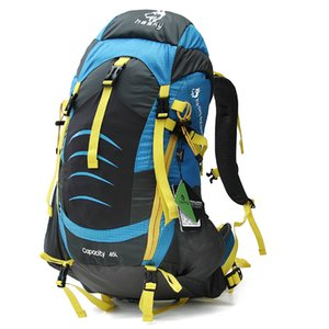Hiking backpack medium-sized hiking trip 3 days shoulder waterproof mountaineering bag camping lightweight outdoor bag