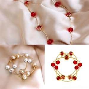 tkoa blue silver Buddha designer t internet home celebrity round beads enamel red heart sterling high quality pink heart-shaped bracelet