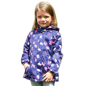 BEEBILLY New Girls Jacken Warme Polar Fleece-Jacken für Mädchen Winter Herbst Wasserdichte Windjacke Kinder Mantel Kinder Oberbekleidung 201106