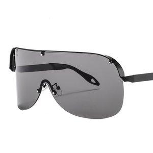 Frameless Sunglasses And Black Oversized Glasses For Glasses Retro Square Eyeglasses Sun Lens Men Women One Friday UV400 Goggles Bcinb