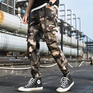 Autumn Spring New Men Pants Fashion Mens Sweat Pants Full Length Cargo Pant Casual Men Trousers 7 Colors Large Size M-4XL
