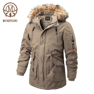 MINDYGOO high quality wholesale OEM custom logo 2020 new design high fasion winter puffer men parka coat mens
