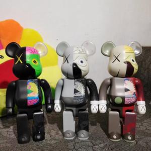 Assolutamente popolare 400% 28 cm Bearbrick Bear figure giocattolo per i collezionisti Be @ rbrick Art Lavoro ABS Materiale modello Decorazione Decorazione Giocattoli regalo