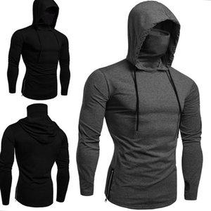 Colors 2 Hoodies Gym Wear Long Sweater Cappuccio Hooded Black Designers Tshirt Survêtements Mens Gray Felpe Sleeve Hommes Hoodie Con Pmmin