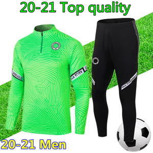 chándal de fútbol nigeria camiseta de fútbol 2020 2021 chandal futbol nigeria Hombre 20 21 mens football tracksuit training jogging