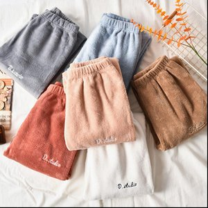 Winter Woman Casual Thicken Harem Pants Bloomers Loose Warm Elastic Thickening Pyjama Women Trousers Pajamas Drop Shipping