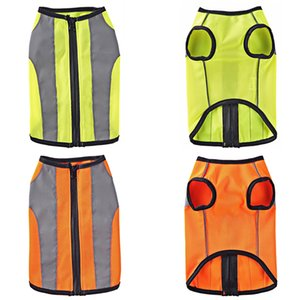 Vest Jacker Luminous Pet clothes Reflective Dog Jacket for Small Large Dogs Cat Coat Night Outdoor Walking Safety Clothing 30