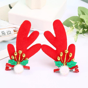 Antlers hairband hair clips for children and adults Christmas ornaments plush cat ears hair accessories 8 styles available