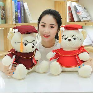 Soft Dr. Urso Suchido Brinquedo de Pelúcia Teddy Bear Boneca Boneca Urso Brinquedos Dia Infantil Dia Estudante Graduação Presente