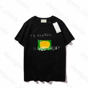 21ss hombres para hombre de diseñador de las mujeres T Shirts Hombre de la manera ocasional s de la camiseta de la calle pone en cortocircuito la manga Luxe Marcas Ropa para Mujer Top del calidad