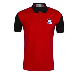 F1 Racing Costume Polo Chemise Polyester Séchage rapide Tee-shirt T-shirt Polo Chemise Hommes Jersey Moto Court à manches courtes Racing Polo Uni UNI