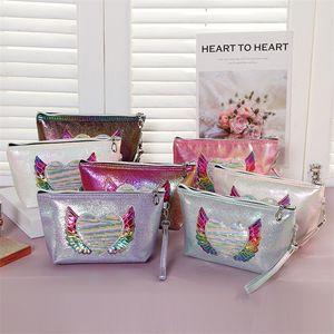 1000pcs New fashion Cosmetic Bag Women Makeup Case PVC Beauty Organizer Pouch Female Jelly Bag Lady bag