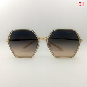 Vente en gros Simplicité Version coréenne Version Coréenne Mode Designer Lunettes de soleil Square Square Sunglasses de soleil Vue arrière Vue arrière Envoyer des lunettes