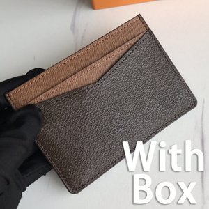 Mode-Karten-Brieftaschen Leinwand-Schicht mit Karten-Slots-Halter-Frauen-Geldbörsenkarten-Paketpass mit Kasten 7,5 * 12 cm