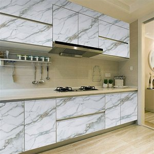 3M Kitchen Contact PVC Wall Marble Countertop Stickers Bathroom Self Adhesive Waterproof Wallpaper