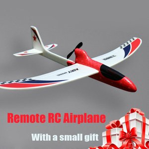Newest DIY Glider Foam Mini Drone Capacitor Hand Throwing Electric Plane Resistance to falling Toys for Children Birthday Gift
