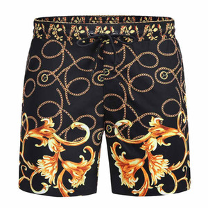 Летний 2021 Новая Мода Мужская одежда Дизайнерские Шорты Буква Брюки Безвозмездная Шорты Водостойкие Пляжные Шорты Повседневная одежда