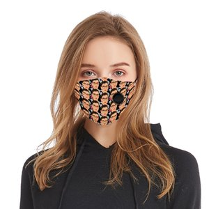 2020 Adult Ruth Bader Ginsburg Justices of the United States mask dustproof printed washable reusable polyester mask with breathing valve