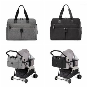 Diaper Bags Baby Nappy Messenger Tote Bag +Changing Pad+Stroller Straps1