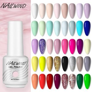 NAILWIND Nail Polish UV Gel Semi Permanent Base Top Coat Need LED Lamp Soak Off Gel Varnish Nail Polish All For Manicure Art