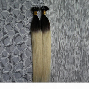 U Tip Pre-bonded Ombre Remy Pre Bonded Keratin Hair Extension European Hair On the Keratin Capsule Fusion Hair
