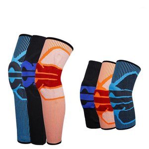 1 Stück Kniestreifen Kompression Kniestütze Elastische Crossfit-Klammer Pad Patella Running Basketball Squat Safety Sleeve1