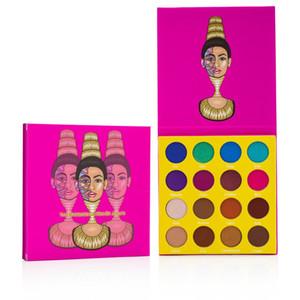 16 Renk Saht Basamak Göz Makyaj Metalik Su Geçirmez Mini Göz Farı Paleti Masquerade Makyaj 24G için Masquerade Makyaj Gölge Paleti
