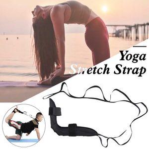 Yoga flexible leg stretcher belt for ballet dance