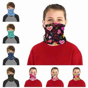 Turban Protective Magic FA Детская маска повязки Велосипедная маска Детская бандана шеи мультфильм наружный гайтс шарф BalaClava Headwear OWE112 араб
