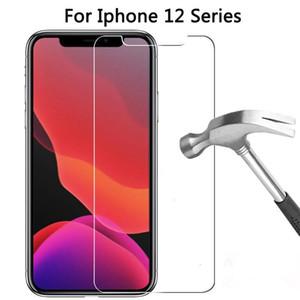 Screen Protector для iPhone 12 мини 11 Pro Max XS XR закаленное стекло для iPhone 7 8 Plus Galaxy A70 A71 A90 Protector 0,33 мм без упаковки коробки
