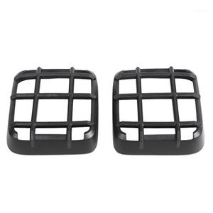 Black ABS Tail Light Light Cover Decor Frame para Wrangler JL 18-201